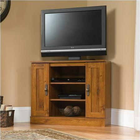 Pemberly Row Corner TV Stand (50 Mahogany Tv Stand)