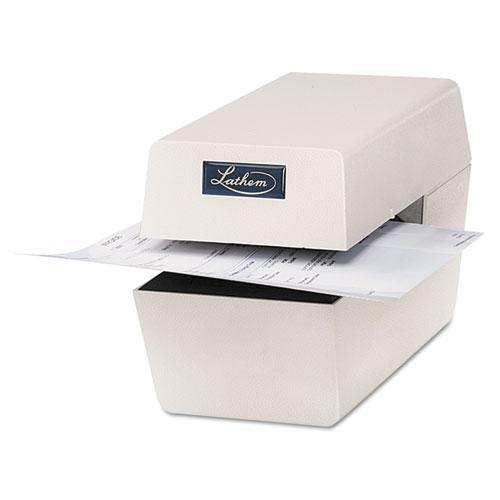Lathem Time Company Heavy-Duty Time/Date Document Stamp