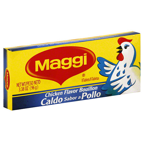 Maggi Chicken Flavor Bouillon, 3.38 oz (Pack of 24)