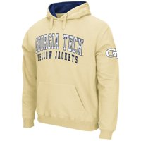 Georgia Tech Yellow Jackets Stadium Athletic Double Arches Pullover Hoodie - Gold