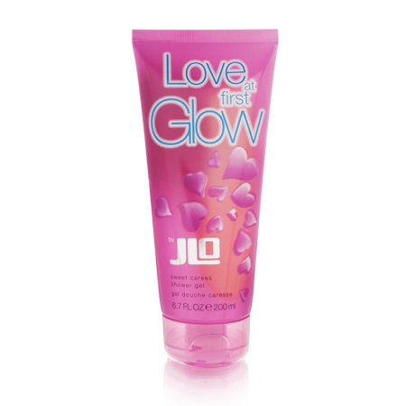 Love At First Glow By J  Lo For Women 6 7 Oz Sweet Caress Shower Gel