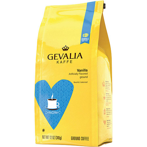 Gevalia Vanilla Ground Coffee 12 oz. Bag