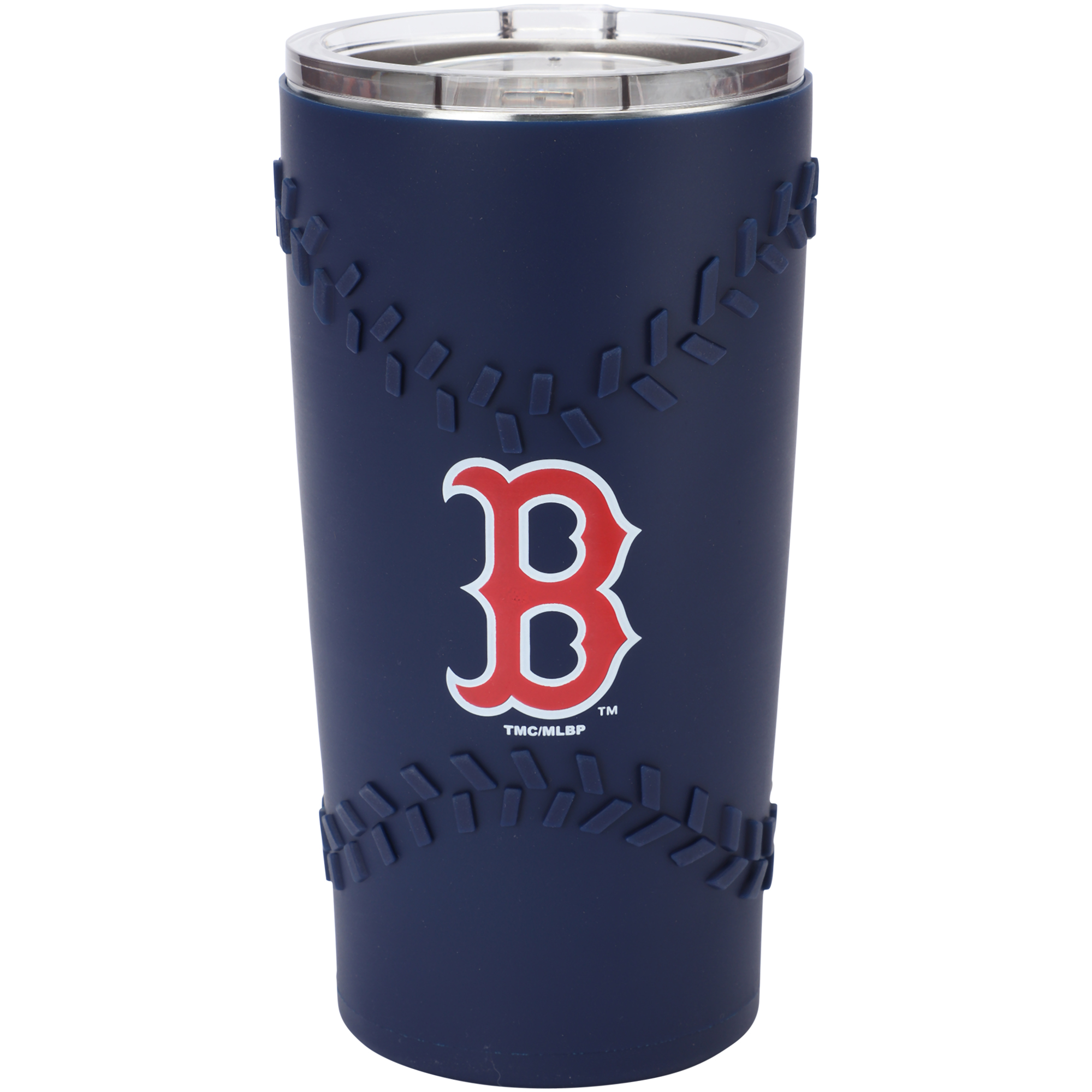 Boston Red Sox 20oz. Stainless Steel with 3D Silicone Tumbler - No Size