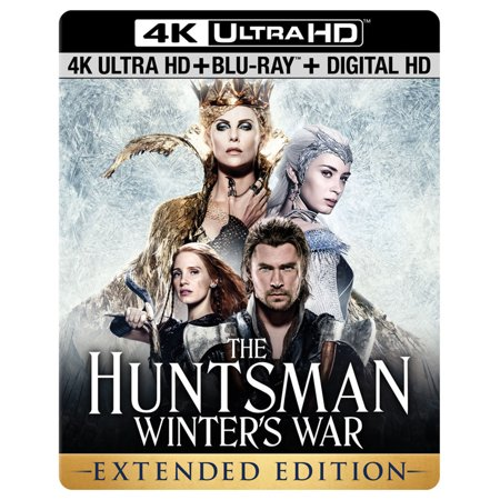 The Huntsman  Winter S War  4K Ultra Hd  Blu Ray   Dvd