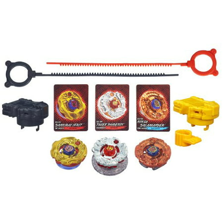 Beyblade Shogun Steel Battle Tops Fire Team Set (Best Beyblade Ever In The World)