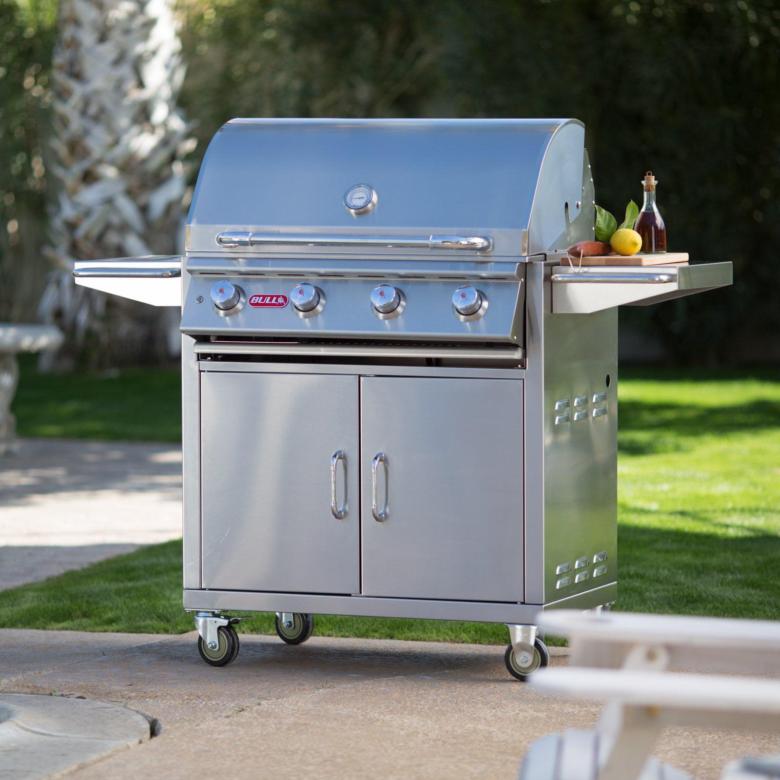 Bull Lonestar Select 4 Burner BBQ Grill Cart