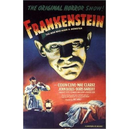 Frankenstein (1931) Laminated Movie Poster Version 1 Print 24 x 36