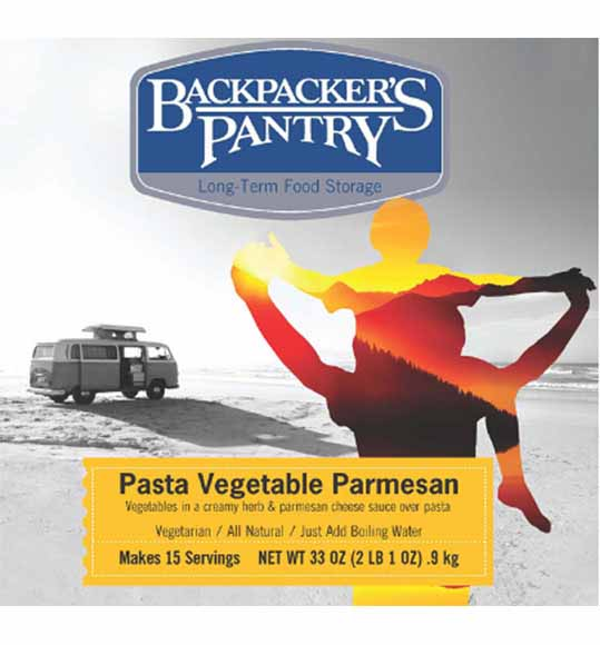Backpacker's Pantry #10 Can Pasta Vegetable Parmesan by Backpackers Pantry