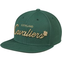 Cleveland Cavaliers Mitchell & Ness Four Leaf Clover Snapback Adjustable Hat - Green - OSFA