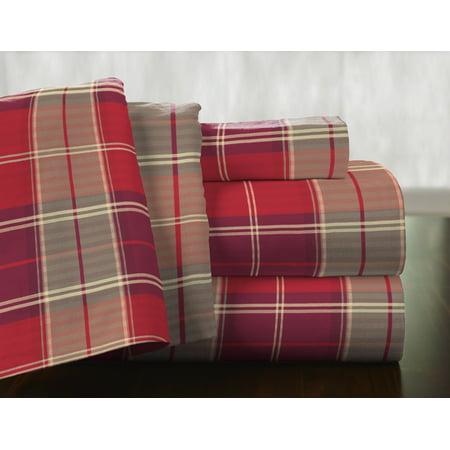 175 GSM Cotton Flannel Sheet Set - Piedmont