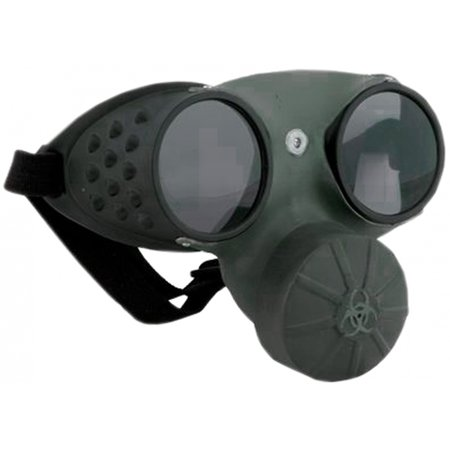 Gas Mask Glasses Adult Costume Accessory