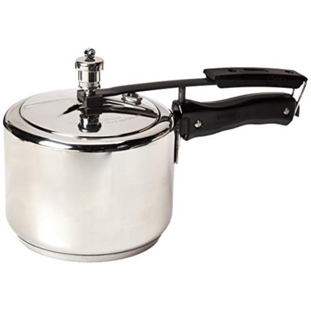 3-Liter Vinod 3L Stainless Steel Inner Lid Sandwich Bottom Pressure Cooker