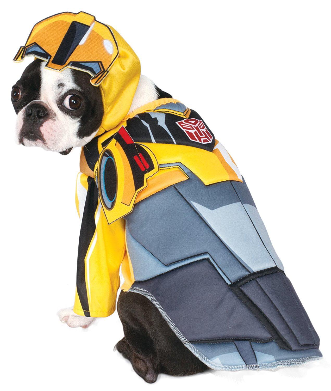 Deluxe bumblebee transformer costume