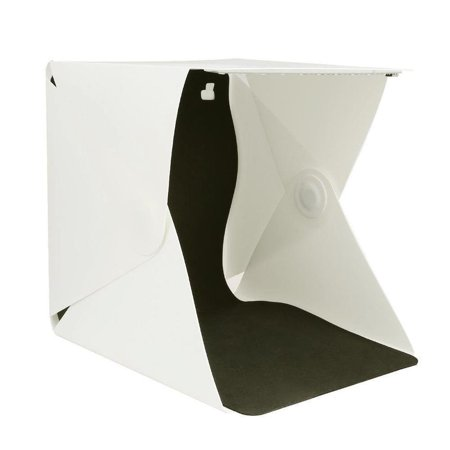 LED Portable Light Box Photo Studio Photography Backdrop Foldable Mini Light (Best Portable Led Light For Photography)