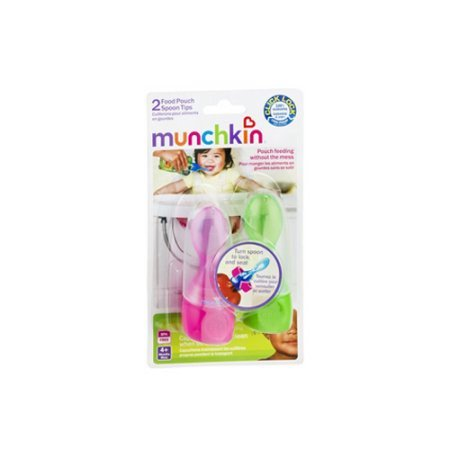 Munchkin Click Lock Food Pouch Spoon Tips, 2 Count