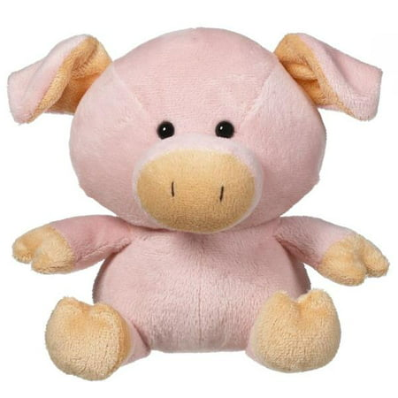 Pink Pig Plush Whimsy Pet by Ganz