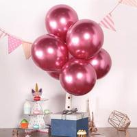"Efavormart 25PCS 12"" Chrome Metallic Latex Helium Balloon For Wedding Party Decorations"
