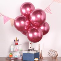 "Efavormart 25PCS 12"" Chrome Metallic Latex Helium Balloon For Wedding Party Decorations"