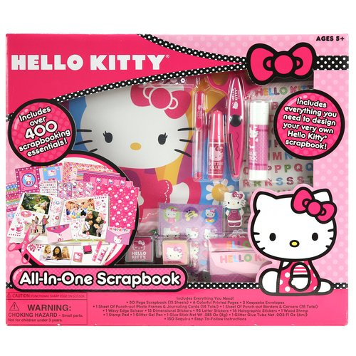 Hello Kitty All-in-One Scrapbook Set