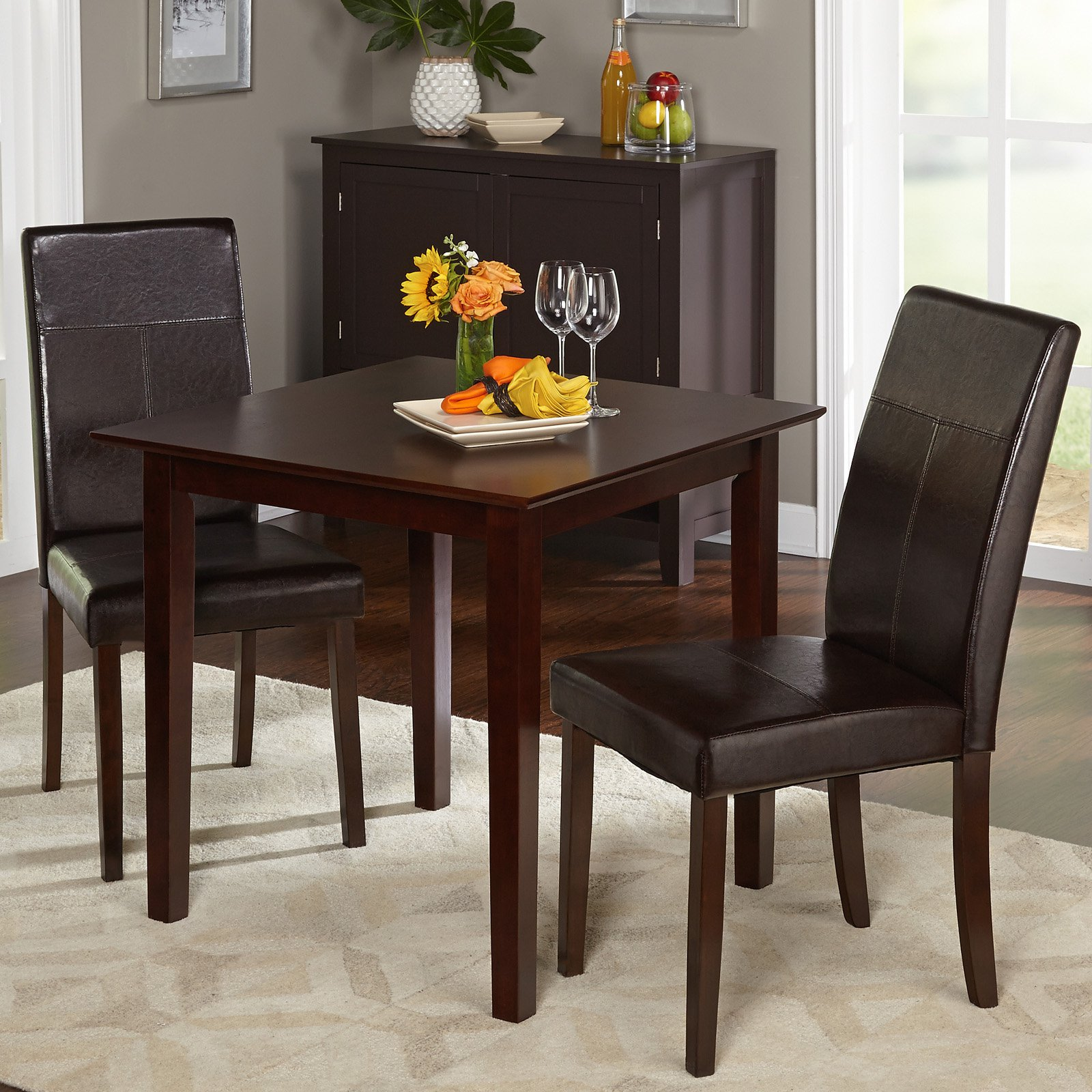 Target Marketing Systems Bettega 3 Piece Dining Table Set