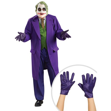 The Joker Deluxe Costume for Men and Adult The Joker Gloves - The Joker Adult Costume