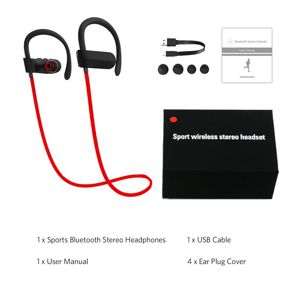 Ktaxon Wireless Bluetooth Headset Stereo Headphone Sport Earphone
