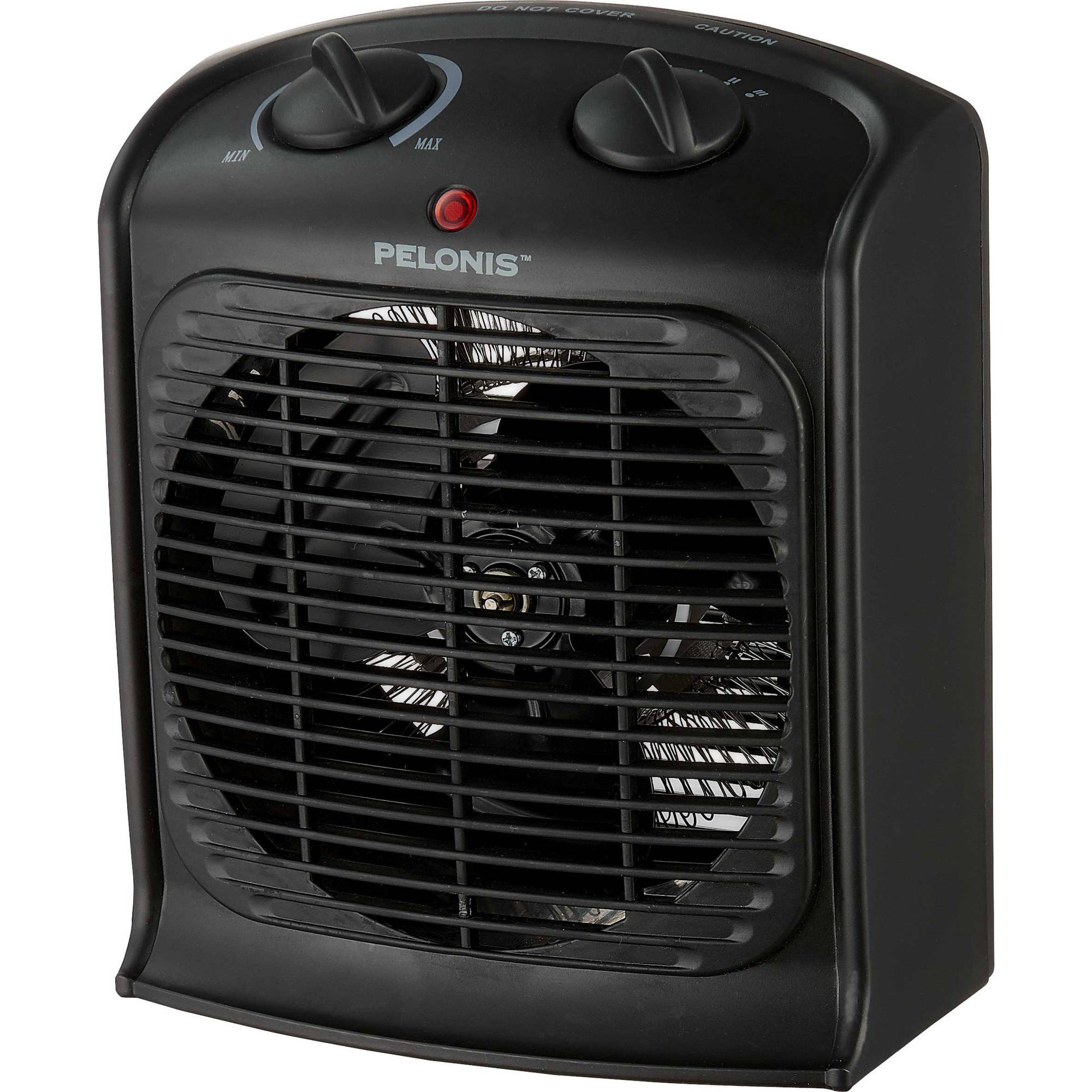 Fan Heater Black