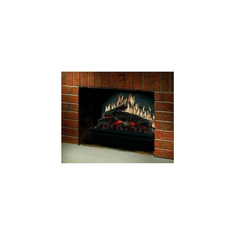Dimplex Electraflame Electric Fireplace Heater Insert in Black Finish by Dimplex
