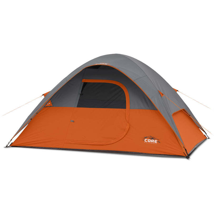 Core Equipment 9' x 7' Dome Tent, Sleeps 4 by Elevate LLC