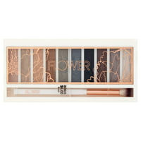 Flower Shimmer & Shade Eyeshadow Palette, ES4 Intense Natural