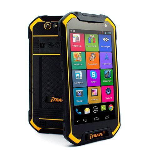 iTRAVL 2 English Chinese 2-way Voice Translator and Rugged World Travel Smartphone by ECTACO