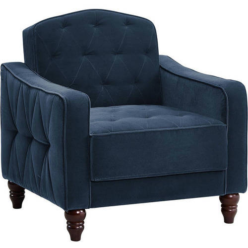 Novogratz Vintage Tufted Accent Chair, Multiple Colors