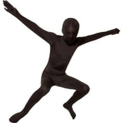 Boy Black Original Bodysuit Medium Halloween Dress Up / Role Play Costume