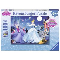 Adorable Cinderella 100 PC Glitter Puzzle (Other)
