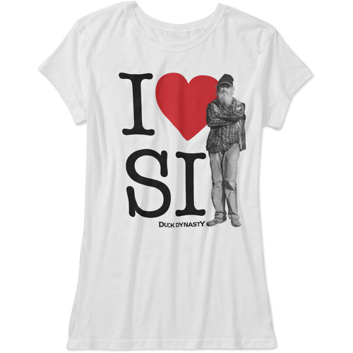 Duck Dynasty Juniors' I Heart Si Graphic Tee