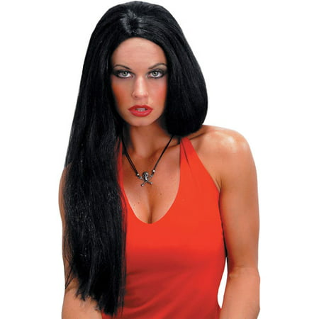 Straight Adult Halloween Wig