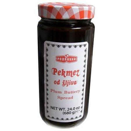 Plum Jam (Pekmez, Plum Buttery Spread (Podravka) 24 oz (680g))