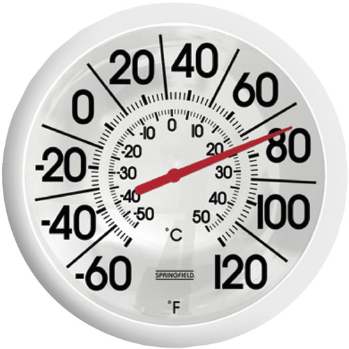 Springfield Big and Bold Thermometer