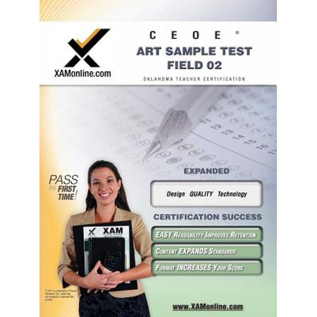 Ceoe Osat Art Sample Test Field 02 Teacher Certification Test Prep Study (Major Field Test In Business Study Guide)