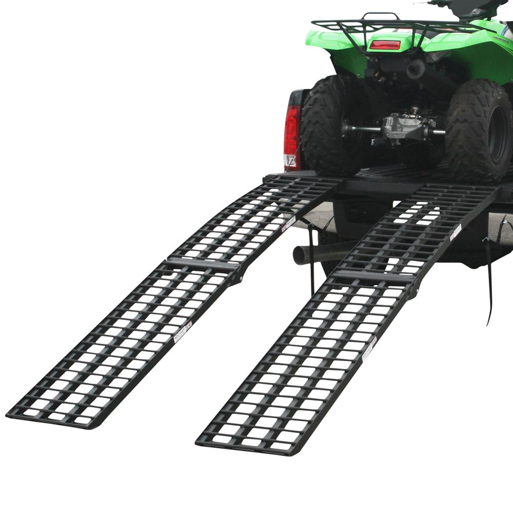"108"" Black Widow 4-Beam Arched Dual Runner Extra Wide Off-Road ATV Loading Ramps"