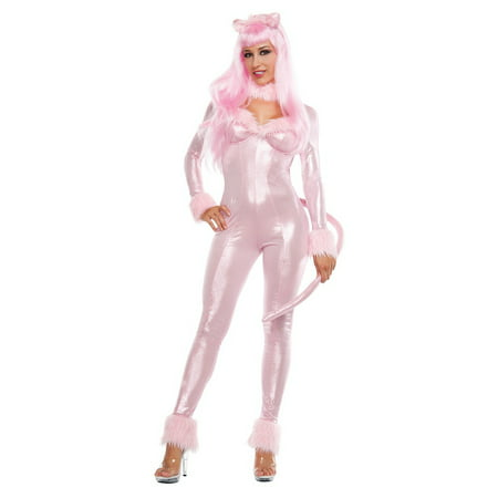 Pink Panther Costume (Sweet Panther Adult Costume -)