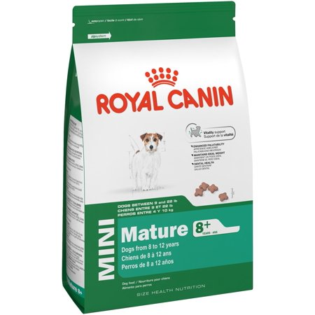 Royal Canin Mini Breed Mature 8+ Dry Dog Food, 2.5 lb