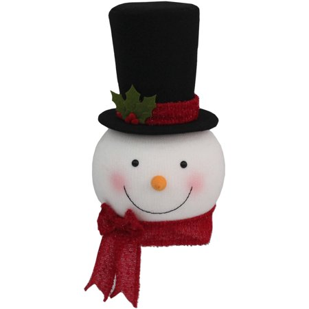 holiday time christmas decor tree topper snowman