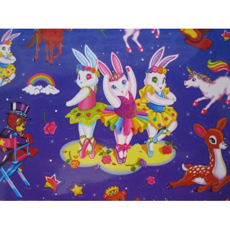 LISA FRANK Sticker Book ~ Over 1200 Stickers - 1st Official Collector's Set! - image 1 de 2