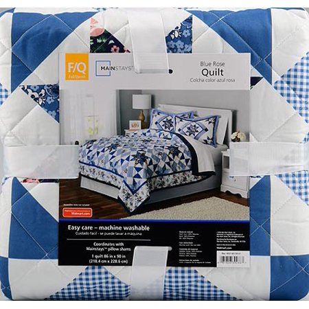 Mainstays Classic Claires Rose Patterned Quilt, 1 Each