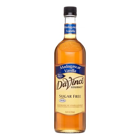 Da Vinci Sugar Free Syrup  Madagascar Vanilla  750 Ml  Glass