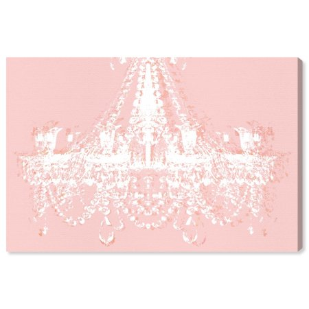 Now For The Runway Avenue Fashion, Pink Chandelier Wall Art