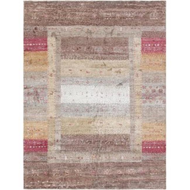 Pasargad Carpets PVNY-16 8x10 7 ft. 9 in. x 9 ft. 9 in. Edgy Collection Hand - Tufted Bamboo Silk & Wool Area Rug - image 1 de 1