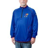 Kansas Jayhawks Tone Tech Thermatec Quarter-Zip Pullover Jacket - Royal
