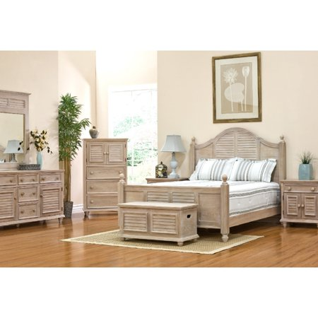 John Boyd Designs Cape May Chest 3 Drawer 2 Door